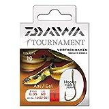 Daiwa Tournament Aalhaken Vorfachhaken 60cm 10Stk., Gr. 1