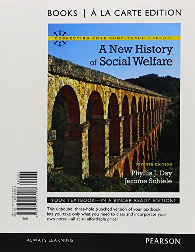 New History of Social Welfare, Books a la Carte Plus MyLab Search with eText -- Access Card Package (Connecting Core Com