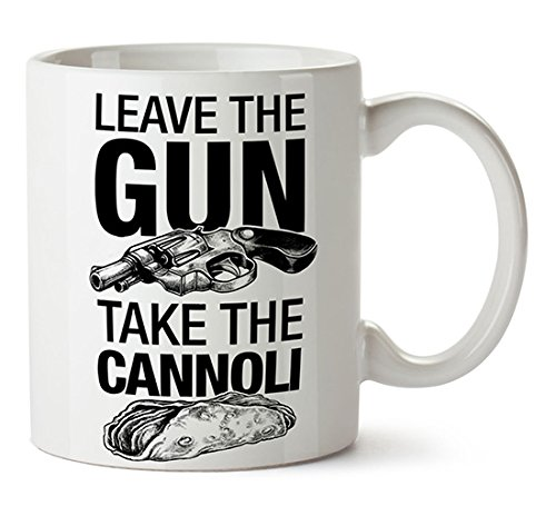 Caneca O Poderoso Chefão - Leave The Gun, Take The Cannoli