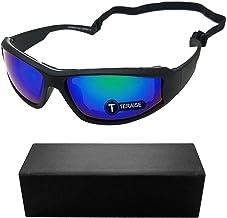 TERAISE Motorbril Veiligheid Skibril Verstelbare UV-bescherming Winddicht Stofdicht Anti-condens Zonnebril voor diverse bu...