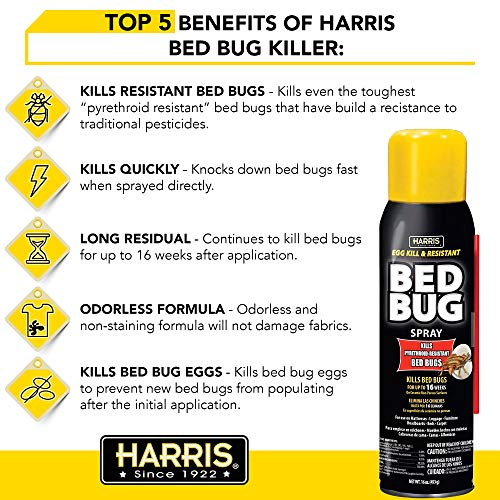 Harris Bed Bug Killer 32oz Spray Buy Online In Israel At Desertcart
