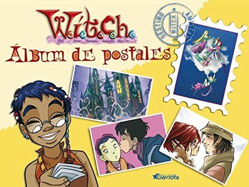 Álbum de postales W.I.T.C.H. (Mis libros de W.I.T.C.H.)
