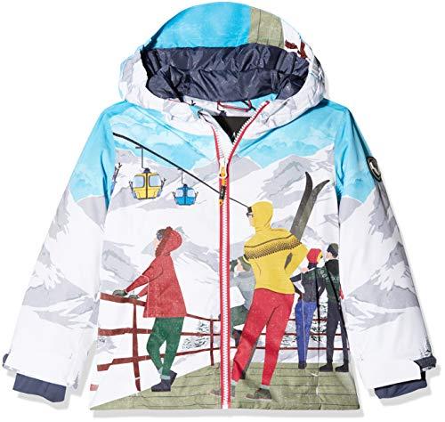 CMP Mädchen Wattierte 5000 Twill Skijacke Jacke, B.Co-Granita-Ice, 152
