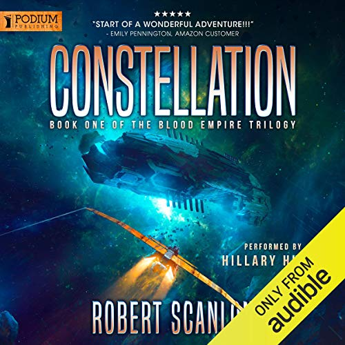 Constellation audiobook cover art