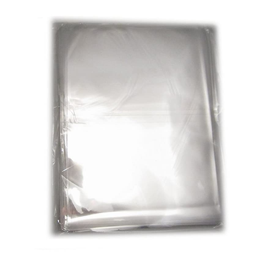 100 Pcs DIY Jewelry Depot Clear Flat Cellophane Treat Bag Good for Bakery Cookies Candies 11x14 Inch