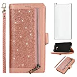 Asuwish Compatible with Samsung Galaxy J4 Plus Wallet Case