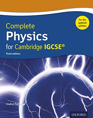 Complete Physics for Cambridge IGCSE Updated syllabus (Complete Science Igcse) (English Edition)