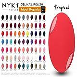 NYK1 Gel Esmalte Permanente Uñas | Esmalte de Uñas de Color en Gel...