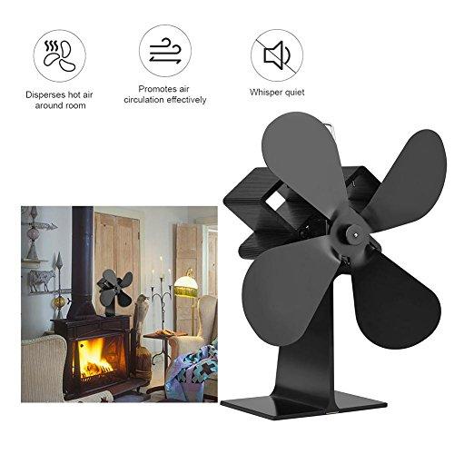 Ventilador silencioso para estufas con ventilador de