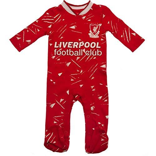 Liverpool FC - Pijama retro para recién nacido, color rojo