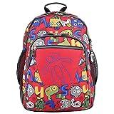 Totto MA04ECO029-1820N-4RY Mochila Escolar, Crayoles