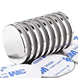 LOVIMAG Super Strong Neodymium Disc Magnets, Powerful N52 Rare Earth Magnets - 1.26 inch x 1/8 inch, Pack of 9