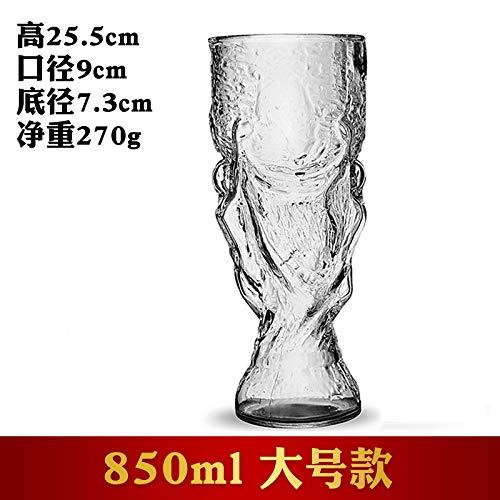 Luxury glass Creative Bar Cup voor bagage, rode wijnschaal, whiskyschaal, bierschaal, schaal met hoge voet, Hercules Juice Cup, glas