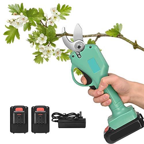 4YANG Tijeras de podar eléctricas, 30 mm, tijeras de podar, tijeras de...