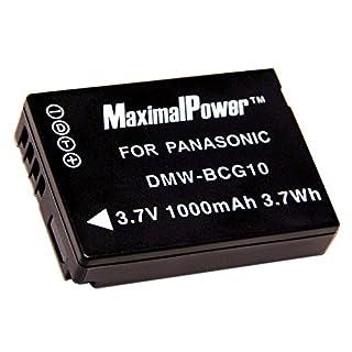 Maximalpower PAN DMW-BCG10 Battery for Panasonic (B002FL4WYW)   Amazon price tracker / tracking, Amazon price history charts, Amazon price watches, Amazon price drop alerts