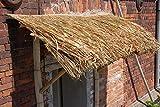 Wilai Palmendächer Strohdach Palmdach Paneele Palmschindel Palmenblätter 145 cm Reetdach für Garten, Balkon und Terrasse - 9