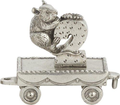 Danforth Pewter Geburtstagszug (2 - Maus) – handgefertigt – hergestellt in den USA