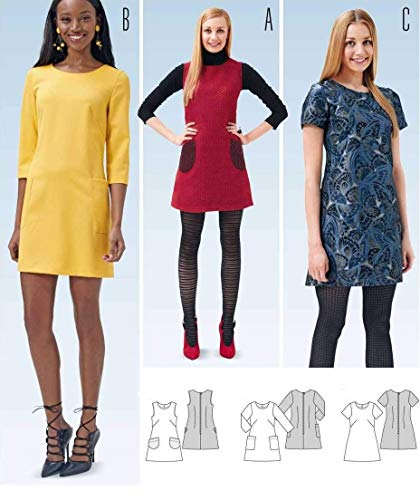 Burda Schnittmuster 6720 Kleid