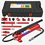 Anbull 10 Ton Porta Power Hydraulic Jack, Upgraded Hydraulic Combined Multifunctional Jack for car Repairs,Auto Body Frame Repair Kit