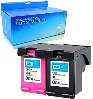Lic-Store Remanufactured Ink Cartridges Replacement for HP 664 HP 664XL Ink Cartridges Used for for HP DeskJet 1115 2135 3635 1118 2138 3636 3638 4536 4676 2PK (1 Black 1 Color)