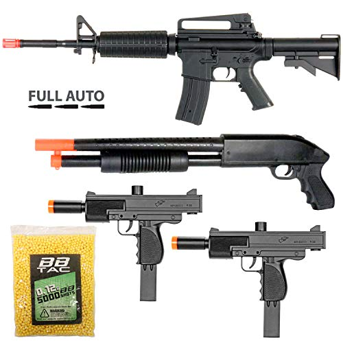 BBTac Airsoft Gun Package - Police Entry Team Collection of...