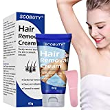 Hair Removal Cream,Tough Hair Cream,Depilatory Cream,Used on Legs & Body Part Skin Friendly Painless Flawless Hair Remover Cream (women)
