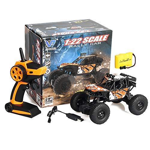 Meteor fire Coche teledirigido RC Cars Stunt Car Toy, 2.4G RC Climbing Car Monster Truck Alta Velocidad Control Remoto Coche Juguetes, para Regalos de cumpleaños Niños Niñas Adultos,4