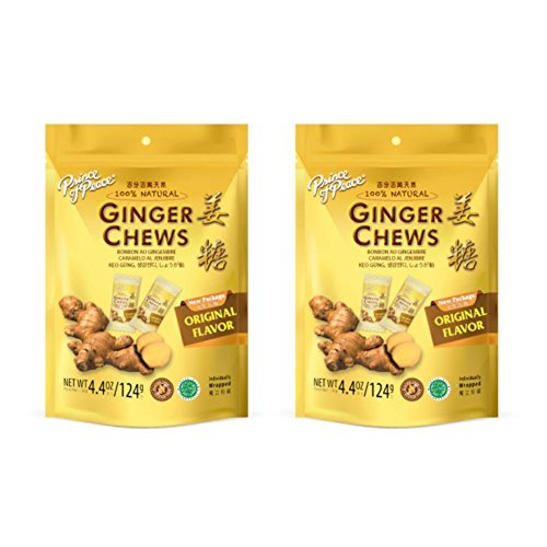 Prince of Peace Ginger Candy 4 oz Pack of 2