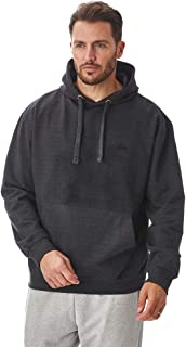Iron Mountain Mens Reclaimed Yarn Eco Friendly Anti Pil Flexible Comfortable Soft Fleece Zip-Up Hooded Top Hoody, Charcoal...