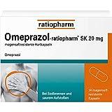 Omeprazol-ratiopharm SK 20 mg bei Sodbrennen Kapseln, 14 St. Kapseln
