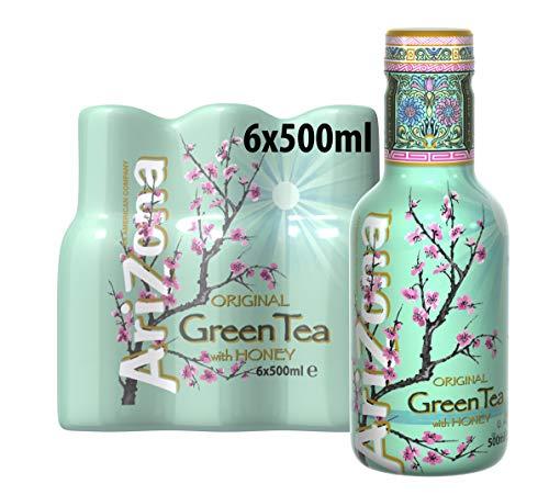 Arizona Green Tea, 6er Pack, EINWEG (6 x 500 ml)