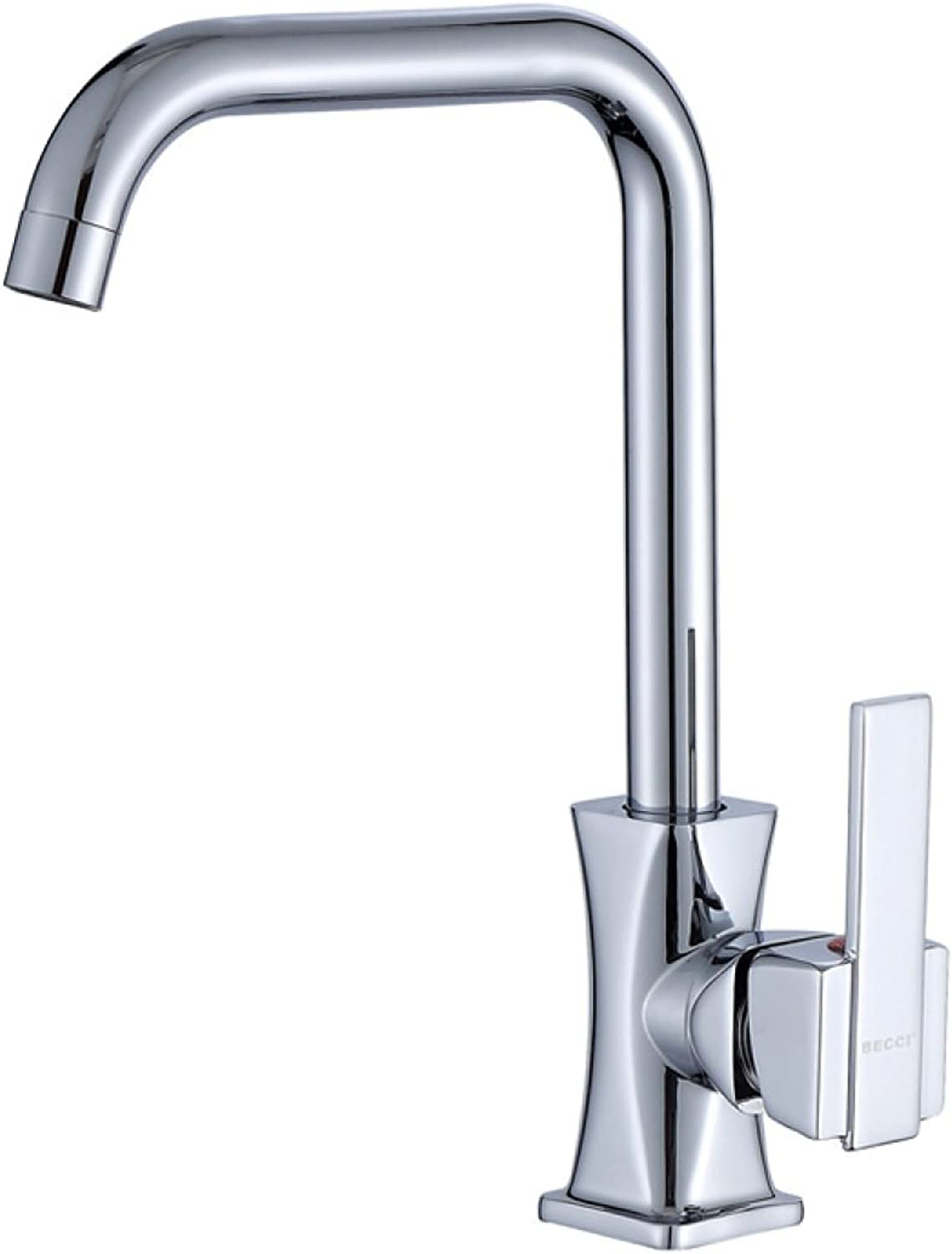 HQQ Bathroom kitchen faucet hot and cold water taps