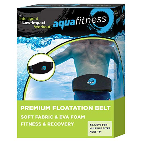 AQUA Fitness Deluxe Flotation Belt for Water Aerobics, Pool Exercise Equipment, Aquatic Swim Belt & Resistance Training
