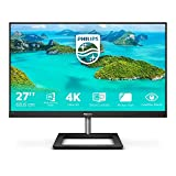 Philips 278E1A Monitor 27', IPS 4K UHD (3840 x 2160), 2 HDMI, Display Port, Casse Integrate, VESA, Low Blue Mode, Nero