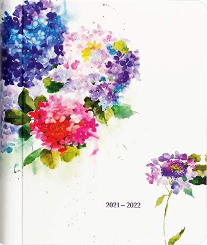 2022 Hydrangeas Mom's Weekly Planner (18-Month Family...