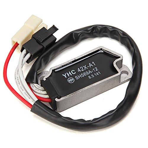 Alamor Rectificador Del Regulador De Voltaje De La Motocicleta Para Yamaha Xv535 1100 Virago Vmx 1200 Xv750