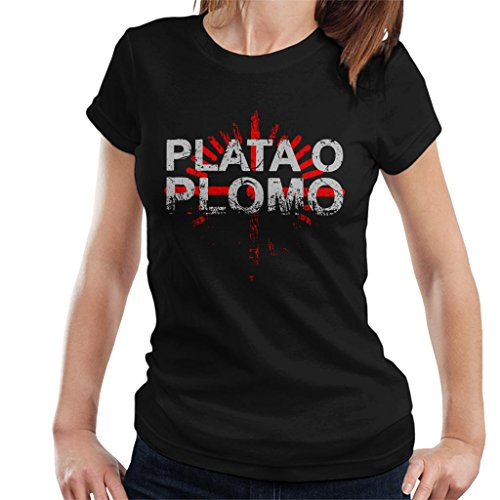 Cloud City 7 Narcos Plata O Plomo Pablo Escobar dames T-shirt