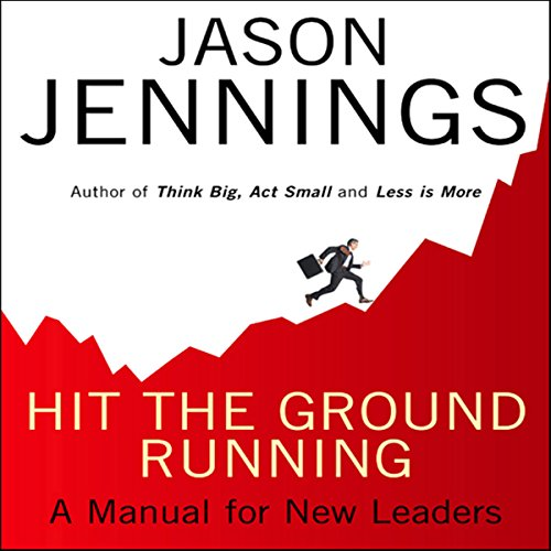 Hit the Ground Running audiobook cover art