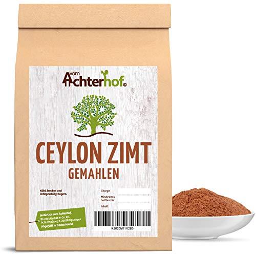 Ceylon Zimt gemahlen (100g) mit wenig Cumarin in Premium Qualität   100{61049d3a34b96b7a7b2e7985b8101b314886972fb0fd198031eb4bd96e055715} ECHTES Ceylon Zimt-Pulver
