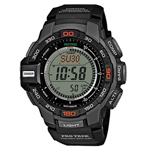 Casio Herren-Armbanduhr XL Pro Trek Digital Quarz Resin PRG-270-1ER