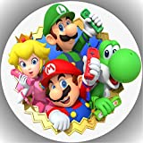 Premium Esspapier Tortenaufleger Tortenbild Geburtstag Super Mario AMA 16