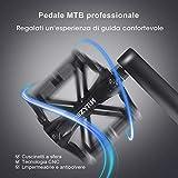 Zoom IMG-2 issyzone pedali mtb bici flat