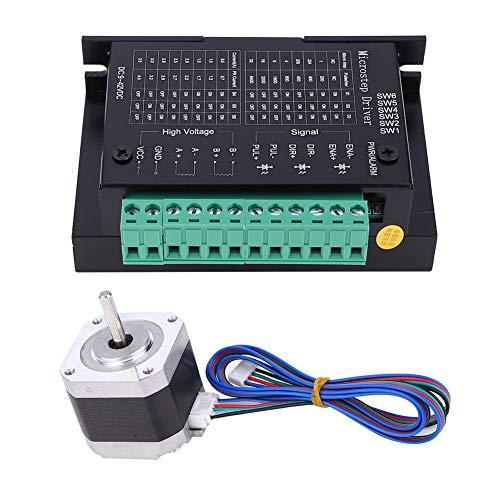 Victool Motor Drive Controller Board Module, 2-Phase Stepper Motor 42HD4027-01-A 3.3V 1.5A 0.4N.m and H-Bridge Bipolar Driver