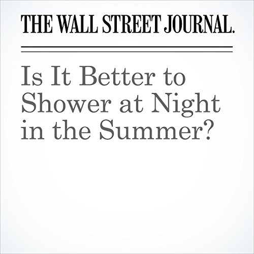Is It Better to Shower at Night in the Summer? copertina