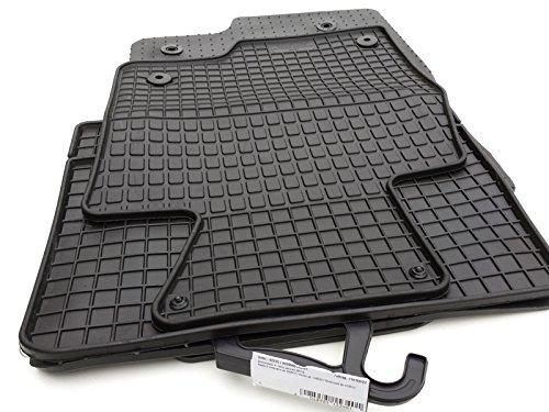kh Teile 92215 Gummimatten Original Qualität Gummi Fußmatten 4-teilig schwarz