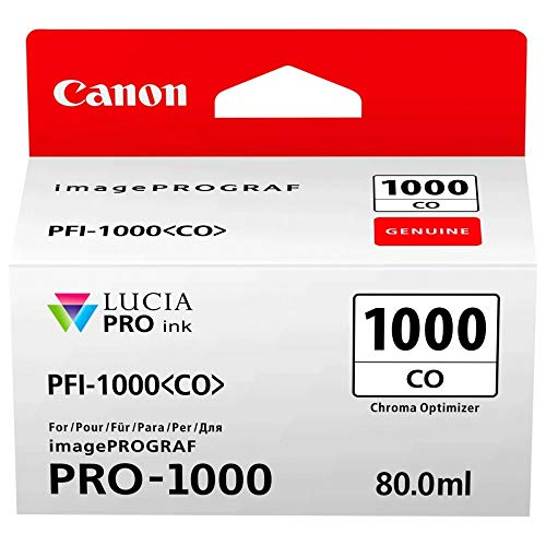 Canon Tintenpatrone PFI-1000 CO Chroma Optimizer 80 ml ORIGINAL für imagePROGRAF PRO-1000
