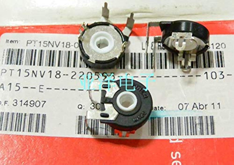 [YK] 100% Imported Original Potentiometer PT15NV1810K Horizontal Elliptical Kong Kuanjue Switch