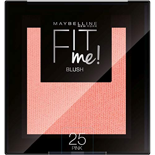 Maybelline New York Blush Fit Me, Texture Compatta in Polvere, Pink