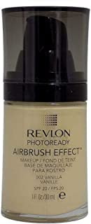 Revlon PhotoReady Airbrush Effect Foundation, 002 Vanilla