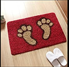 Fast Deal Modern Soft Polyester Anti Skid Shaggy Door Mat|Bath Mat for Your Door Enterance, Home, Office, Bathroom and Kit...